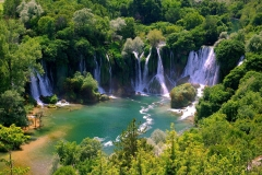 Waterfall-Kravica-Bosnia