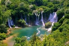 Waterfall-Kravica-Bosnia